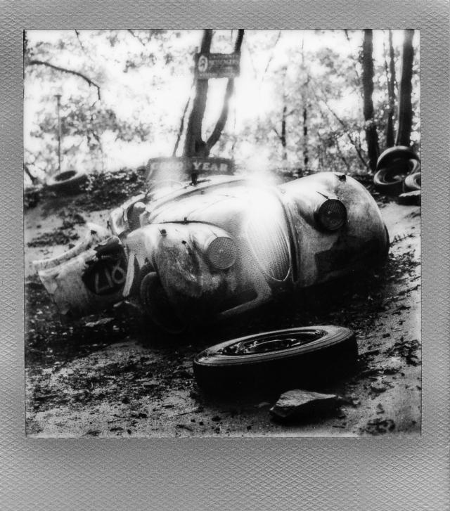 Autolegenden im Wald 5